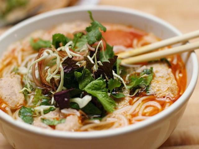 Bun Cha Ca, a Nha Trang specialty rice noodle dish
