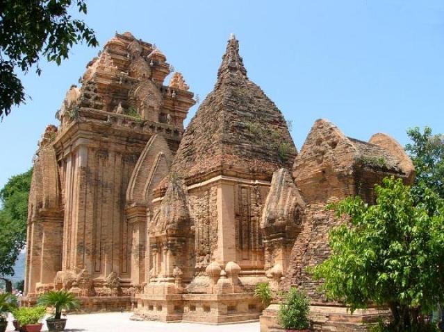 Po Nagar towers, a landmark outside Nha Trang