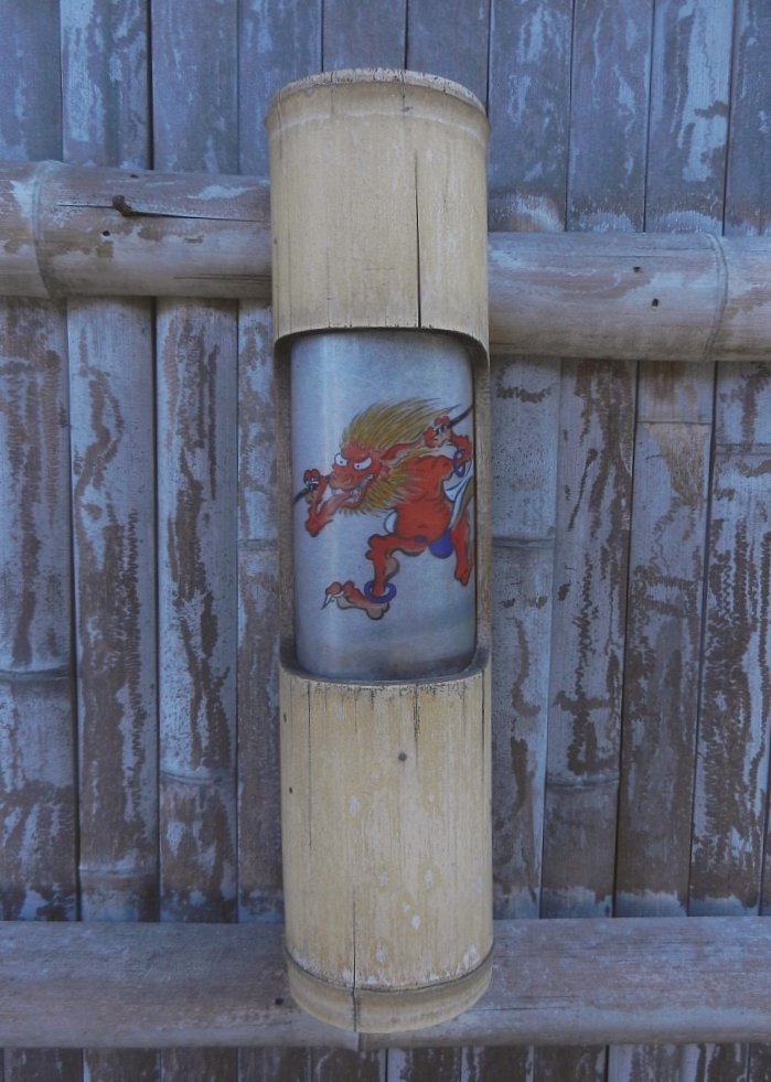 Kodaiji temple lantern with goblin design