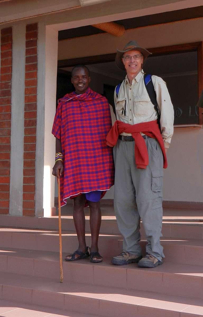 Masai staff at Buffalo Lodge