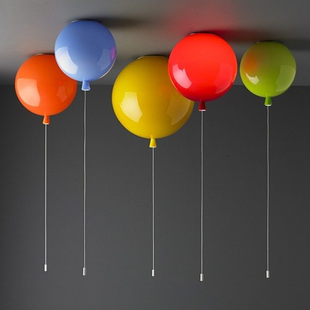 Ceiling lights looking like balloons