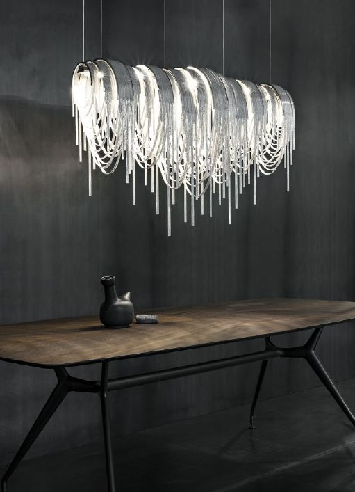 italian lighting fixtures. LED Suspension Fixture Italian Lighting Fixtures InterSpace Design