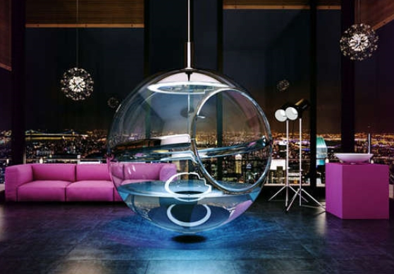 Bathsphere is literally a spa in a pod!