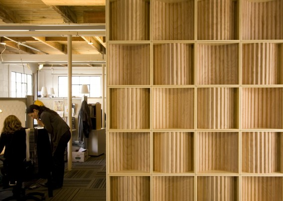 Eco-Friendly Plywood Partition