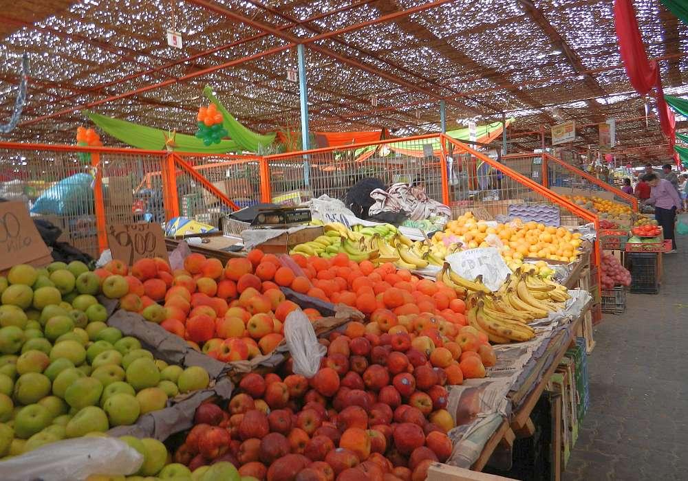 El Agro, Arica's main fresh food market.