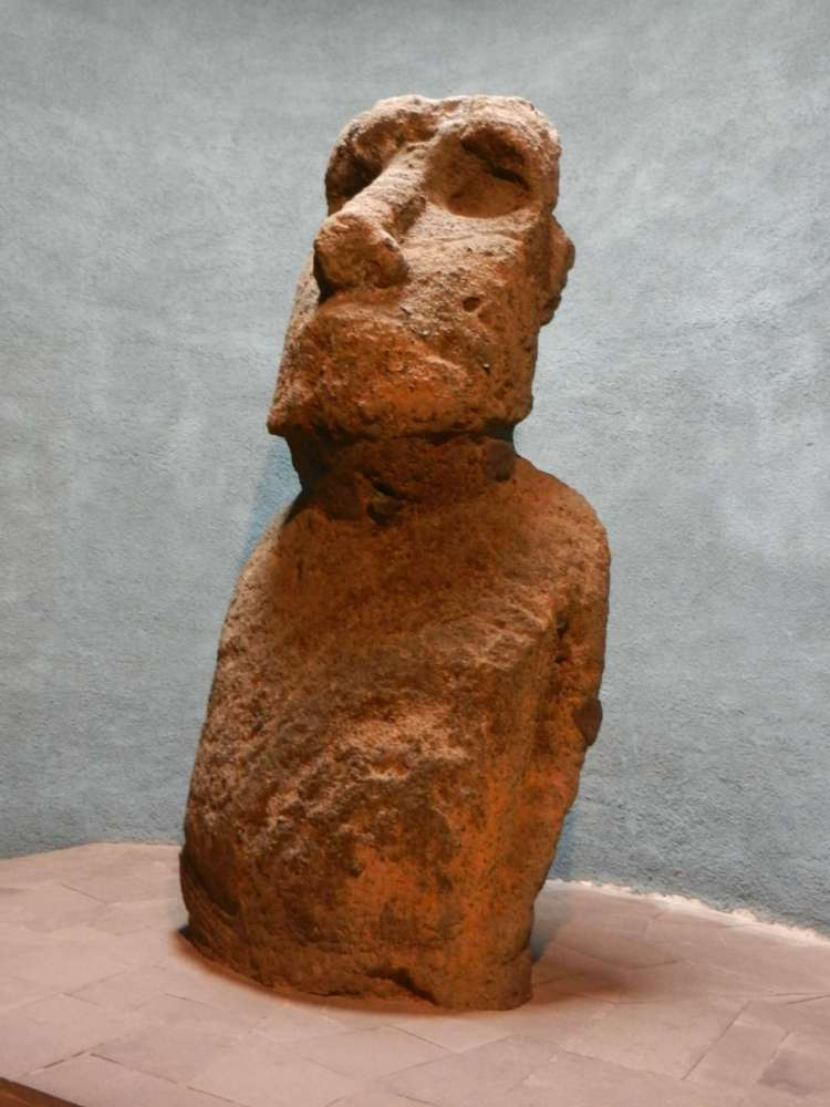 A Moai from Easter Island