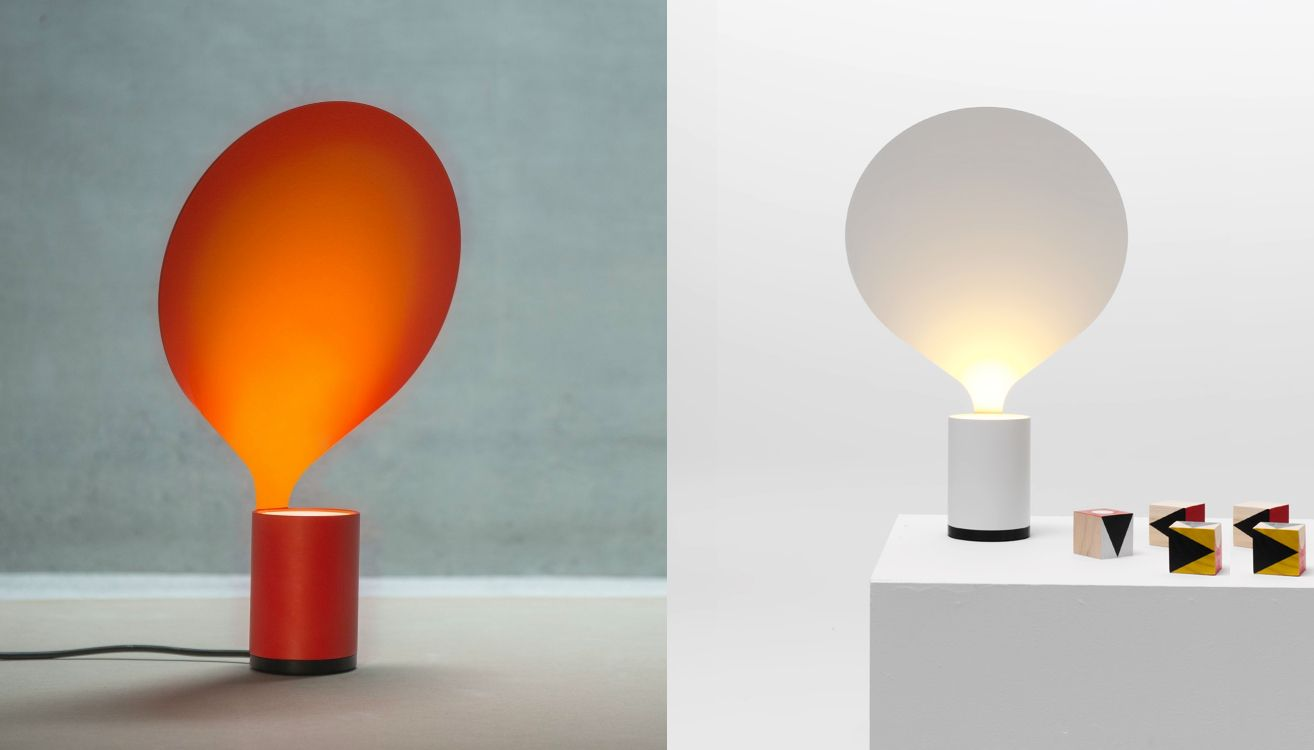 Table lamps that look like stylized ballons