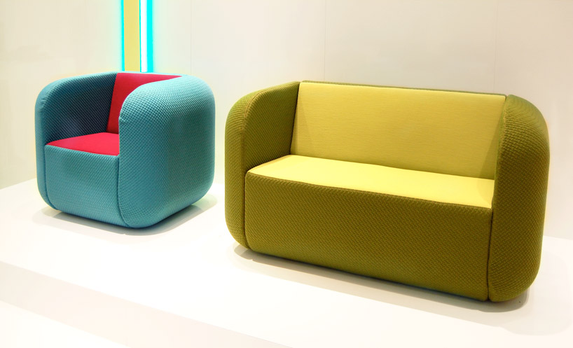 Cube shaped chair and lounge seating