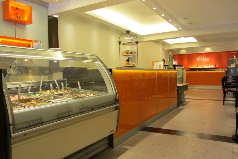 Veikko Ice Cream shop.