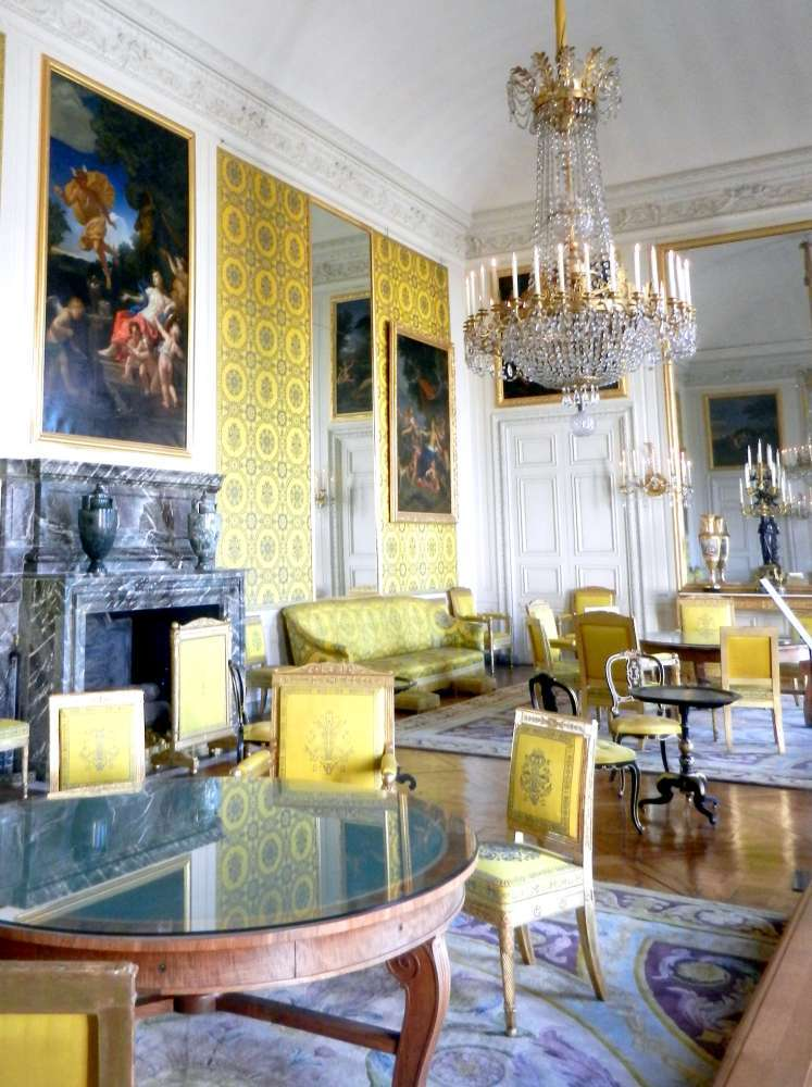 Family room of King Louis-Philippe in the Grand Trianon.