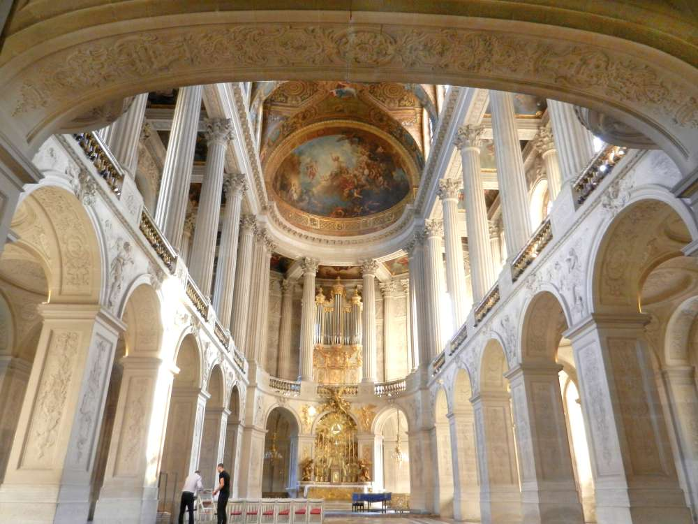 Royal Chapel in Versailles