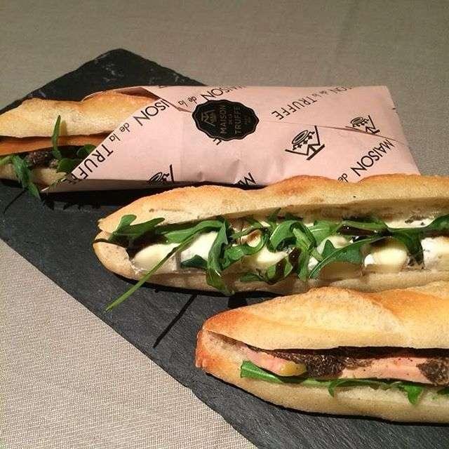 Sandwiches from Maison de la Truffe,