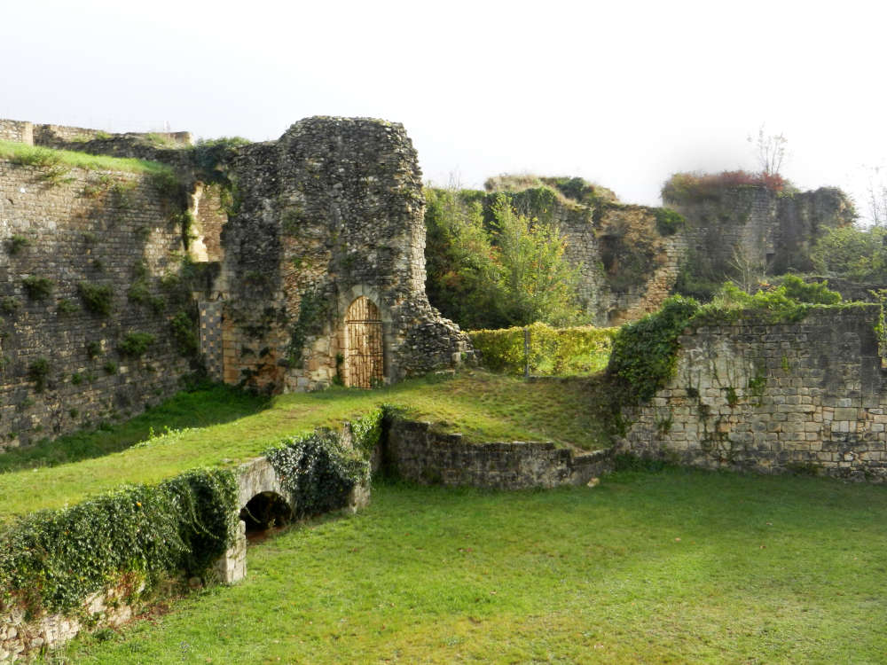 The verdant remains of Blaye's once-formidable citadel.