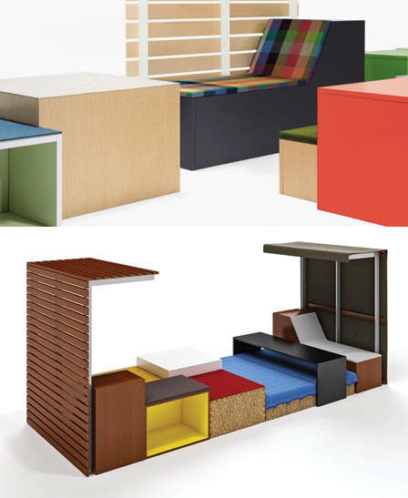 Office furniture from eco-friendly materials