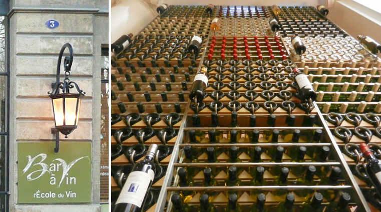 École du Vin de Bordeaux, the local wine school, operates a wine bar on-site.