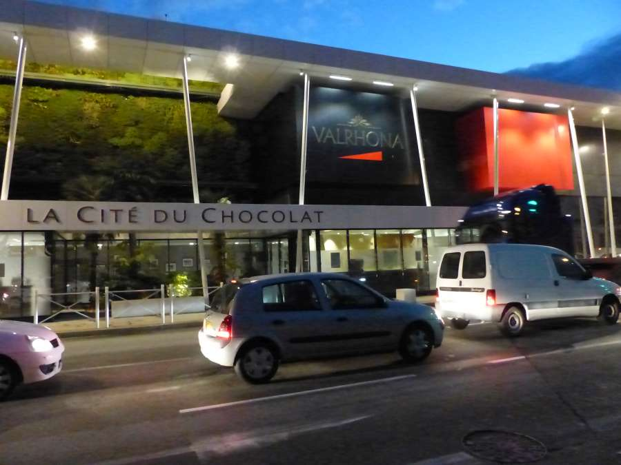 Exterior view of Cité du Chocolat Valrhona