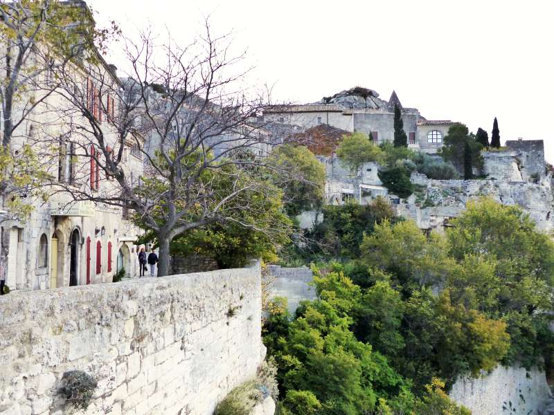 Parting shot of Les Baux