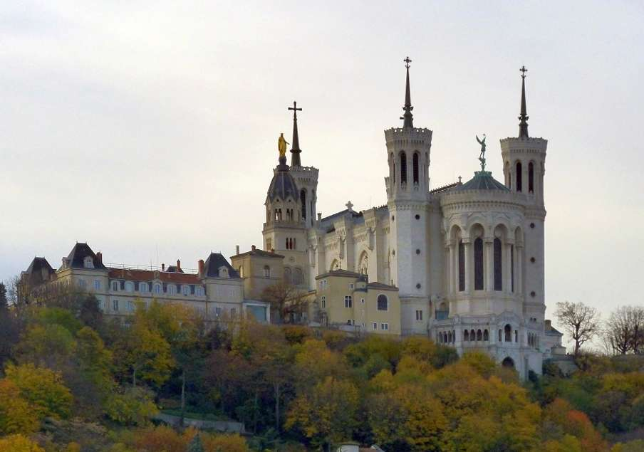 Basilica on Fourvière hill