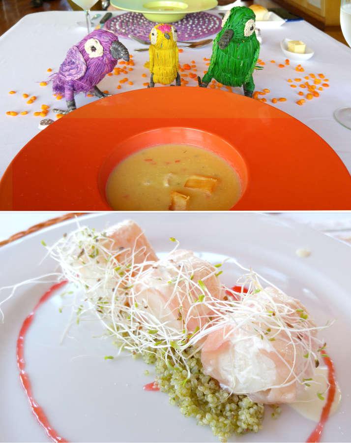 Peruvian cuisine with a jungle flair.