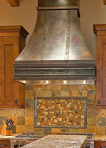 Custom copper hood by CopperSmith