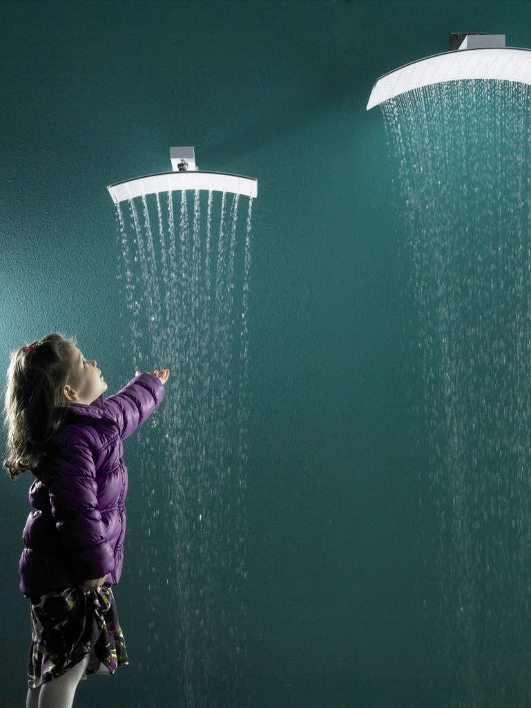 Rainshower that comes in 2 sizes