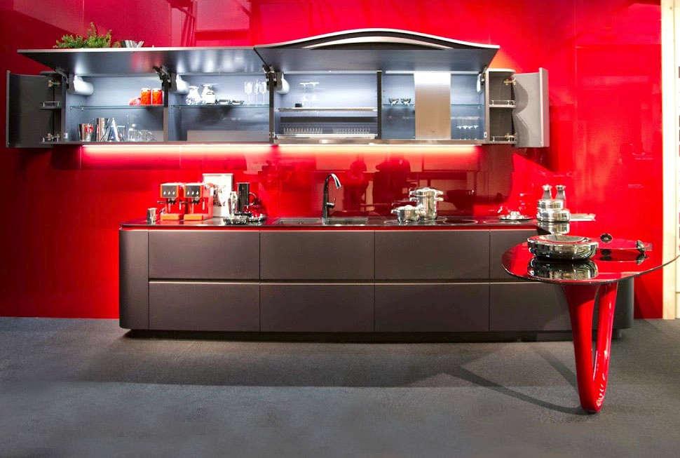 Kitchen cabinets by Snaidero