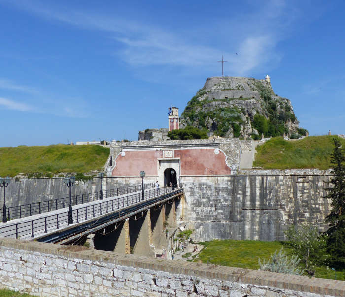 Old Fortress of Corfu.