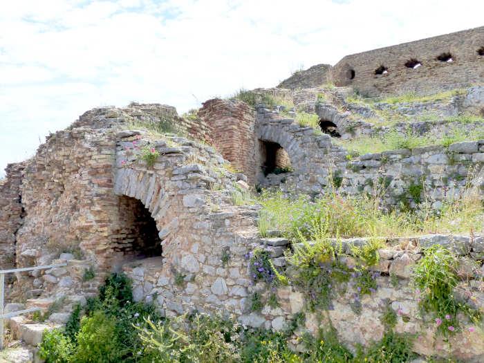 Ruins of a Venetian fortress at Nafplio.