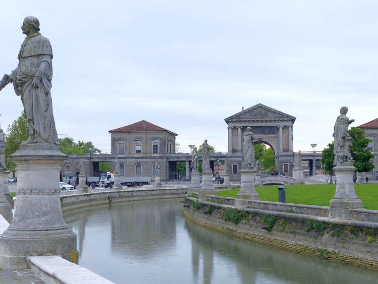 Prato della Valle Padua, the biggest square in Italy.
