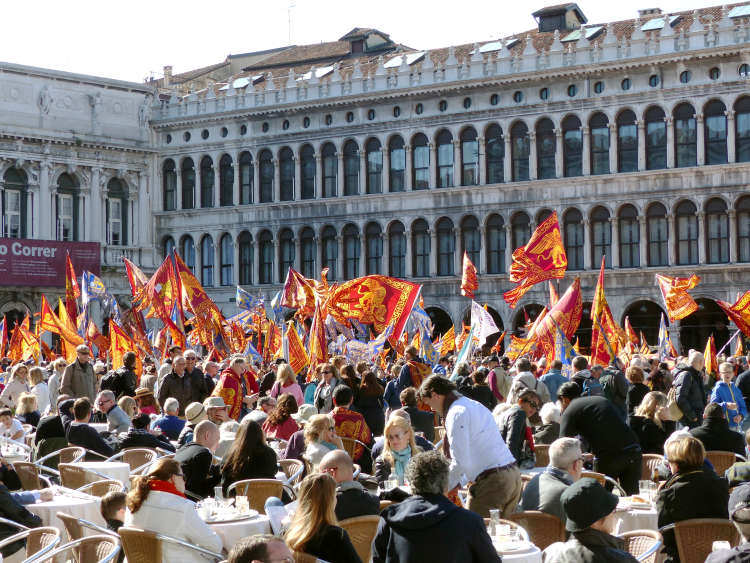 Venice Liberation Day and St. Mark's Festival.
