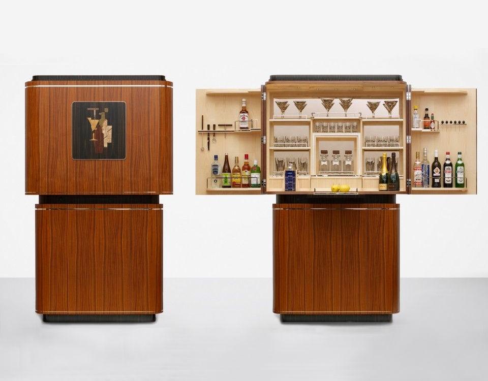 Mid-century modern drinks cabinet