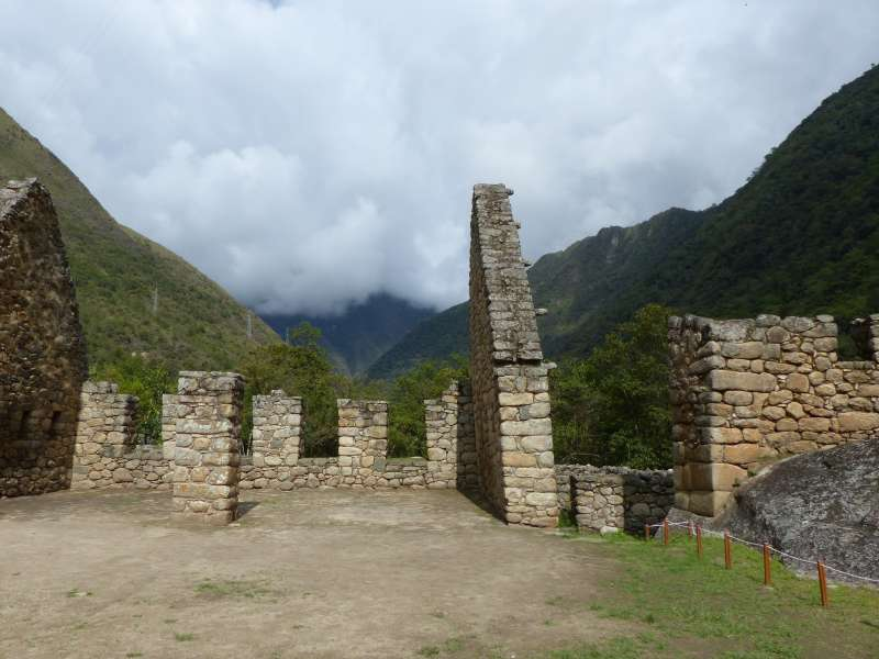 Ruins of an Inca checkpoint.
