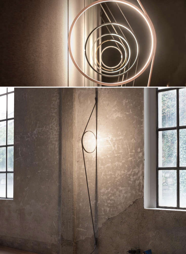 Circular LED Wall sconce