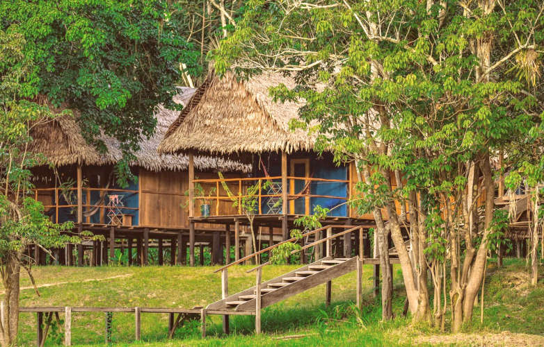 Ecolodge in the Peruvian Amazon
