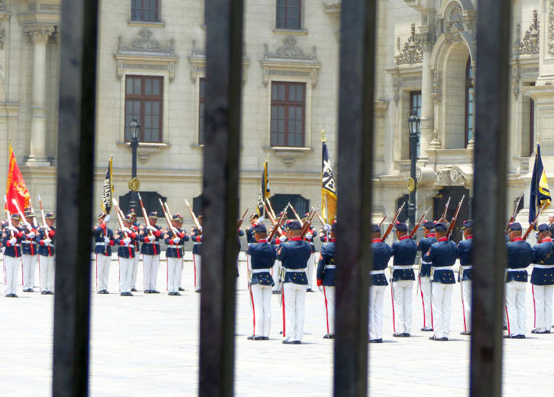 Changing of the Guard at the Government Palace